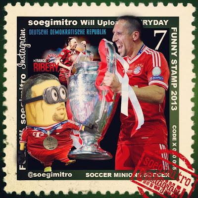Minion de Franck Ribery Bayern