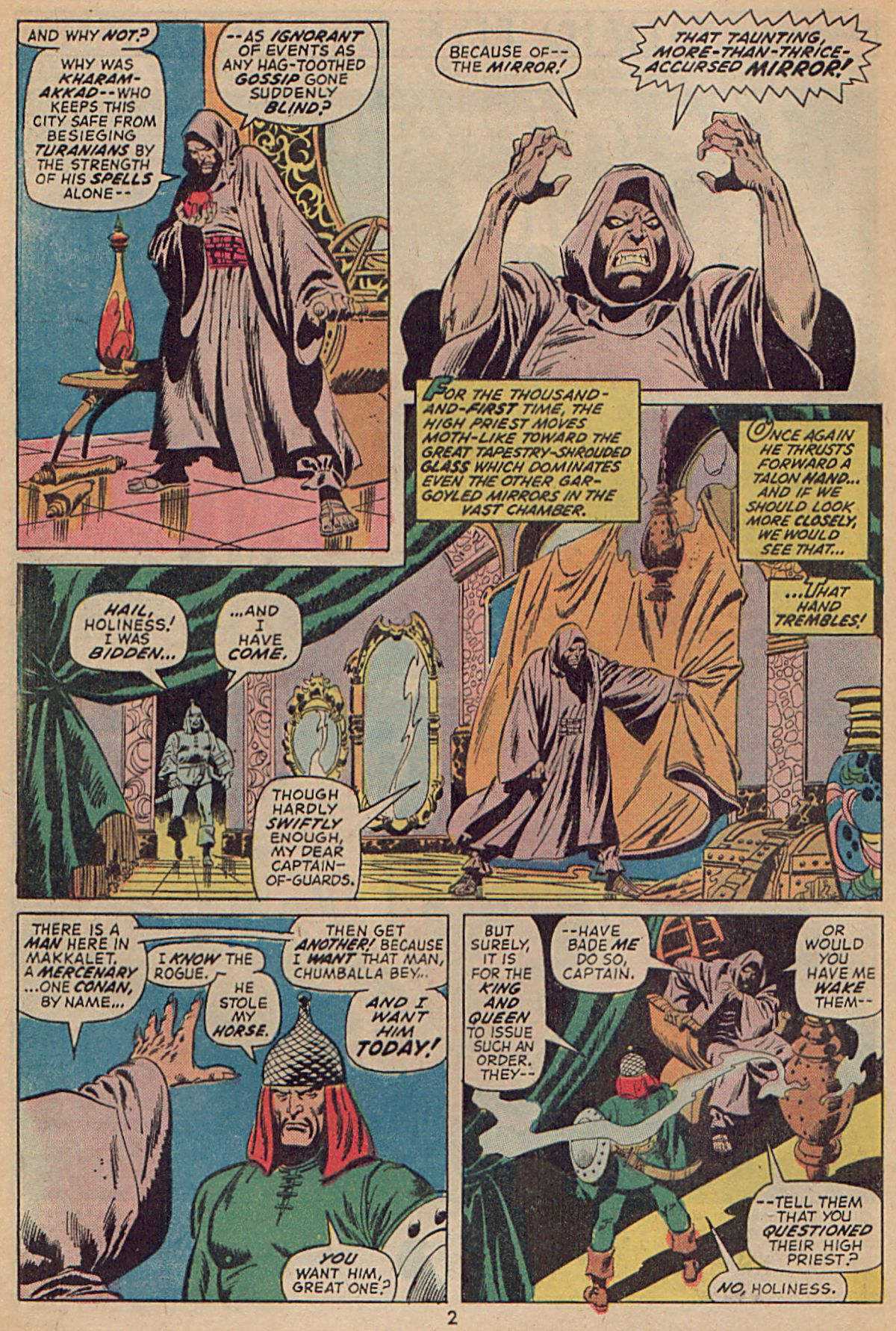 Conan the Barbarian (1970) Issue #25 #37 - English 3