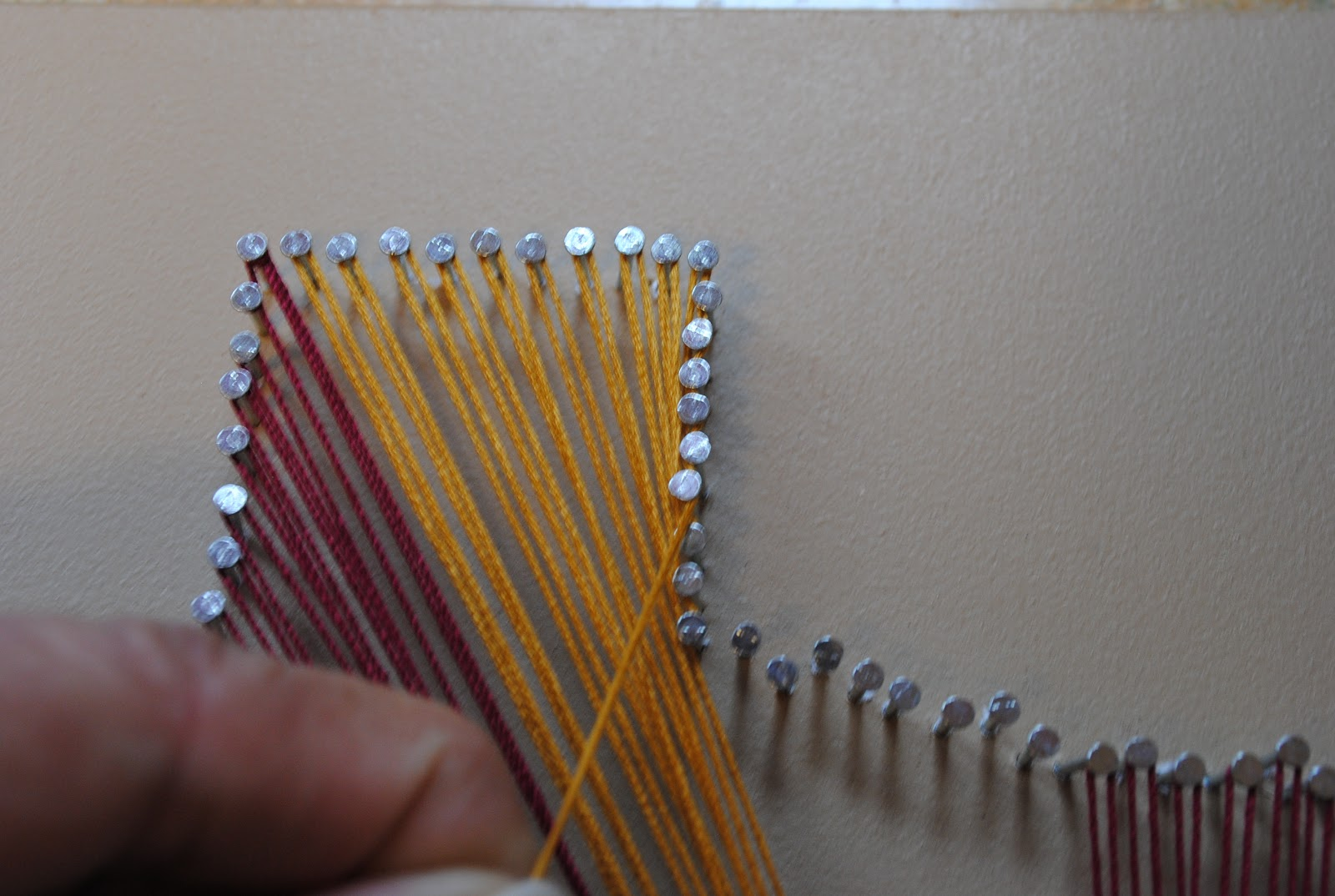 Nail Art Nail String Art