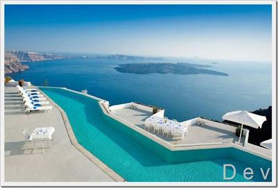 Island of santorini greece