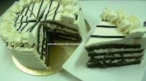 CHOCOLATE WALNUT TORTE CAKE