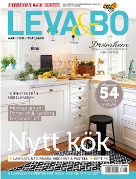 Vår butik Gårdsbutiken är med i Leva & Bo