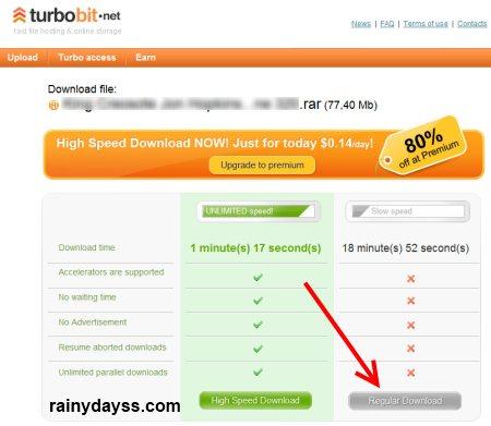 Como Fazer Download no TurboBit 1