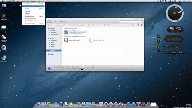 Mac Os X Lion Transformation Pack For Windows 7