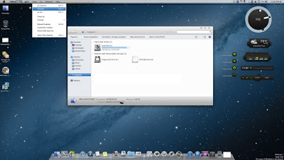 Apple Mac OS X 10.8 Mountain Lion Transformation Pack For Windows 8, 7, Vista or Xp.