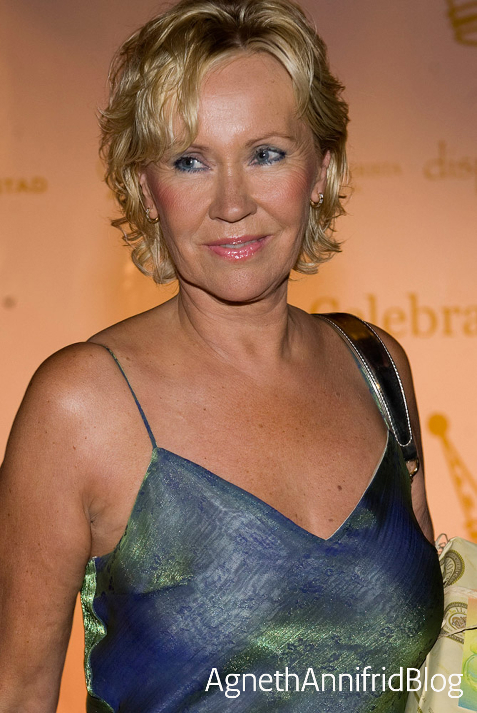 Lovely Agnetha picture from recent years in large size!