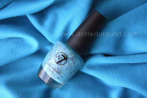 W7 Mosaic polish sprinkles dupe