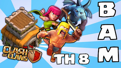 Farming Base Town Hall 8 Clash of Clans