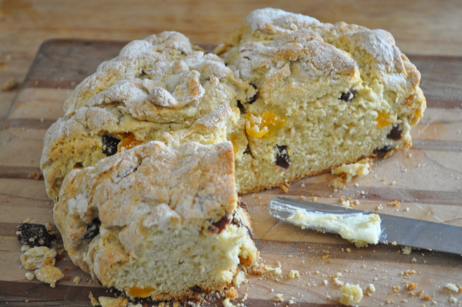 Creative. Light. Less.: gluten free irish soda bread
