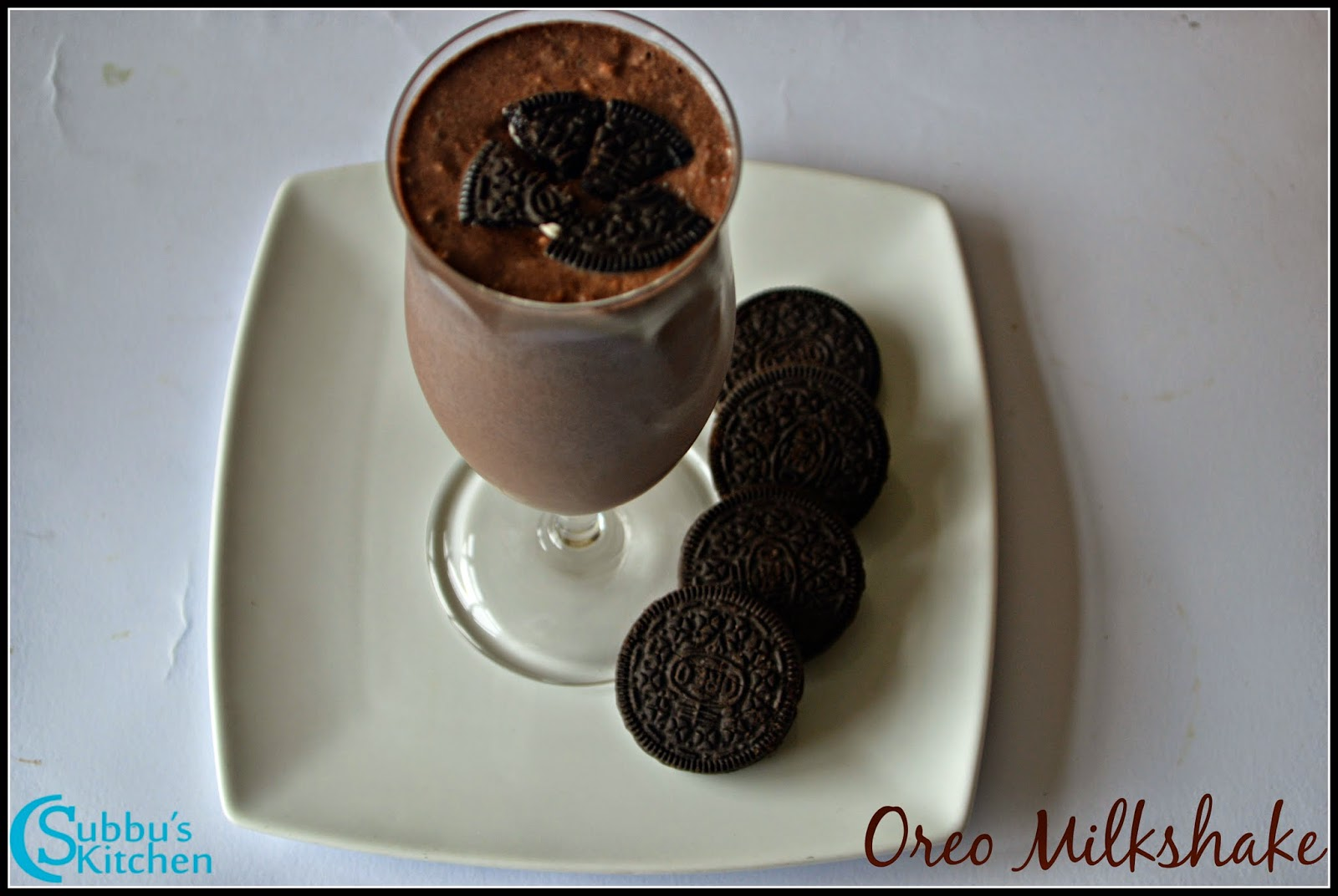 Oreo Milkshake Recipe | How to make Oreo Milkshake | Oreo Recipe | Milkshake using Oreo Biscuits