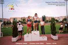 RAQUEL GONZALEZ ROMERO, Subcampeona de Andalucia