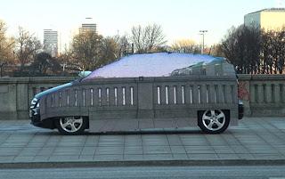 invisible car