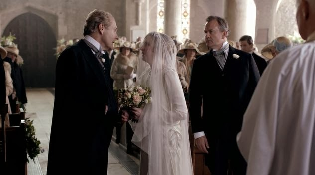 Sir Anthony Strallan leaves Lady Edith at the altar
