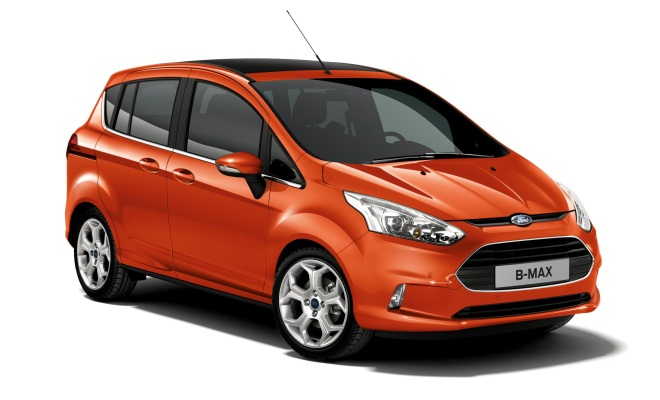 2012 Ford B-Max with doors open