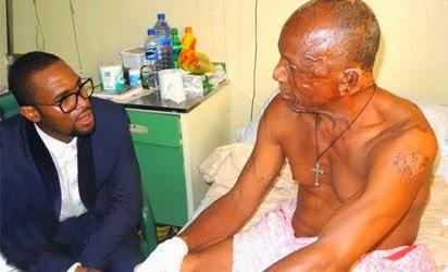 Photo D'banj Visits Nyanya Blast Victims