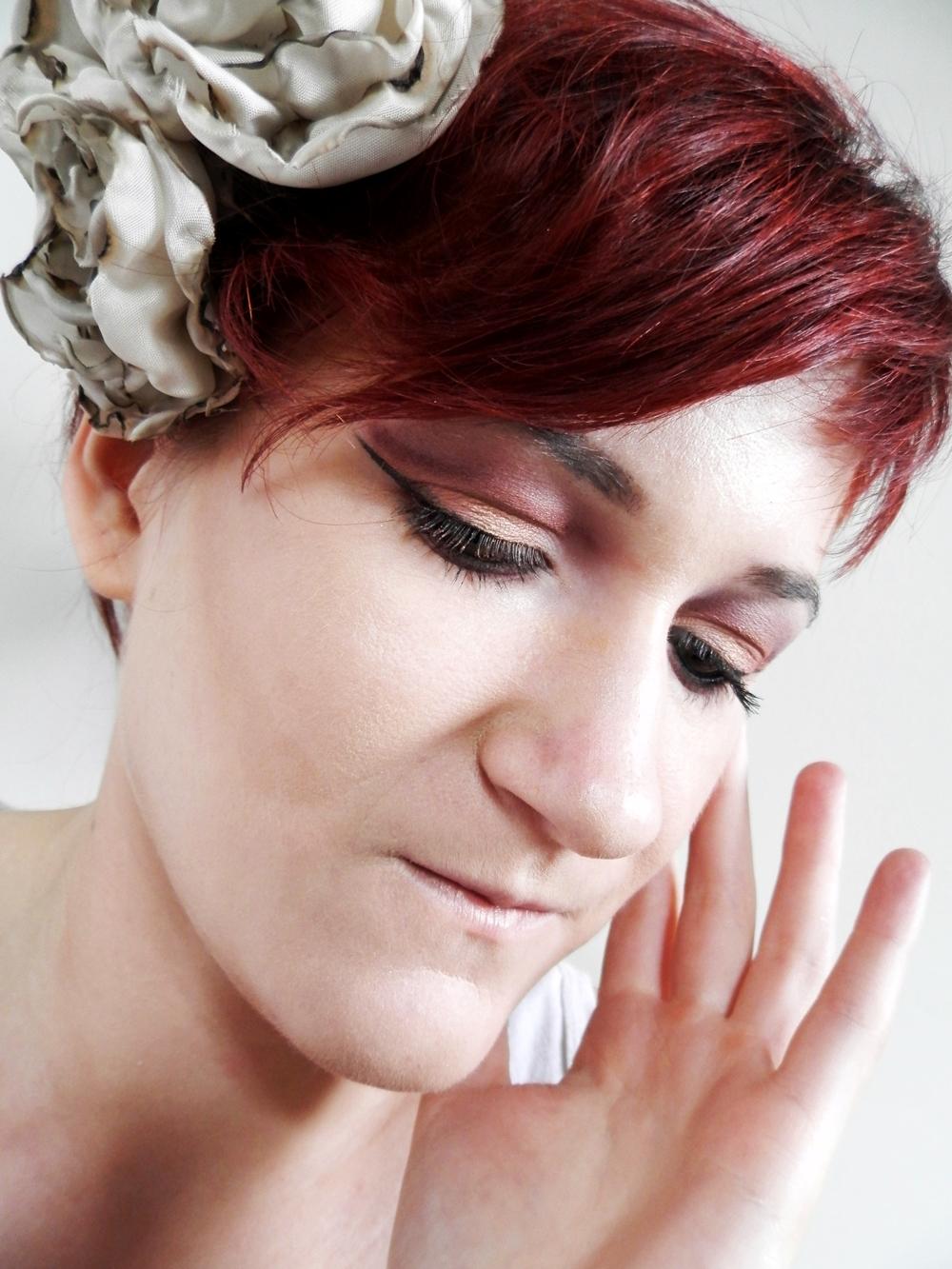 Makijaż ślubny dzisiaj na tapecie...