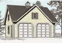 colonial style garage plans garage plans blog behm