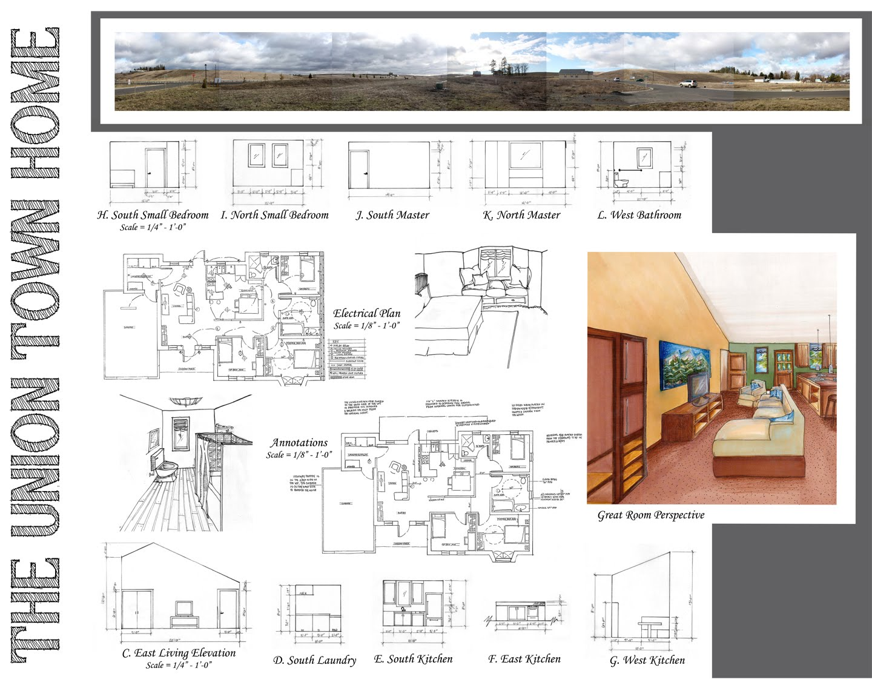 WSU Interior Design 2013: [flexibility] Habitat for Humanity home ...