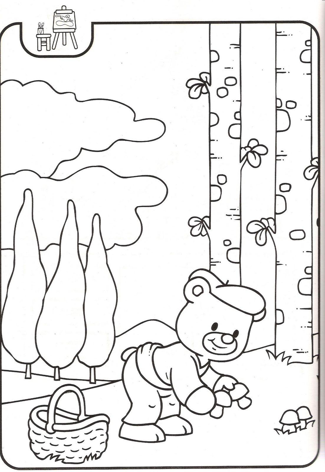 Dibujos infantiles caperucita roja - Dibujos para colorear - IMAGIXS
