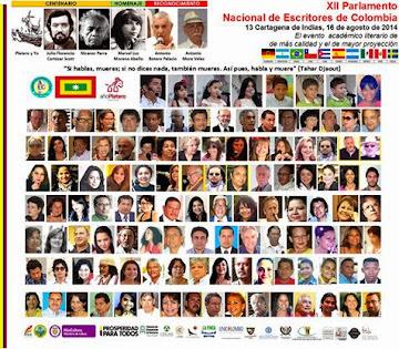 XII PARLAMENTO DE ESCRITORES DE COLOMBIA
