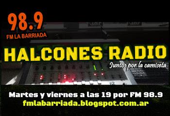 Martes y Viernes a las 19 por FM 98.9