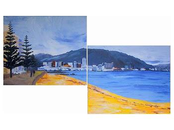 NZ Acrylic Landscapes