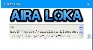 Cara Membuat Kotak Tukar Link di Blog