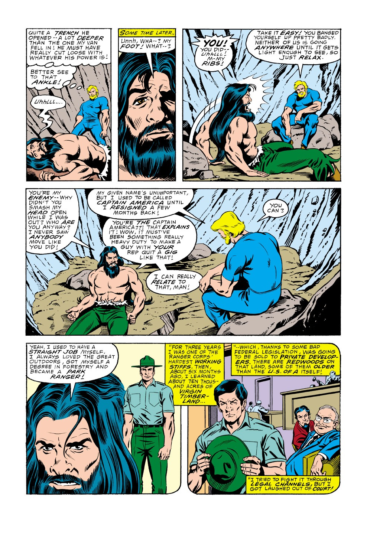 Captain America (1968) Issue #336 #265 - English 21