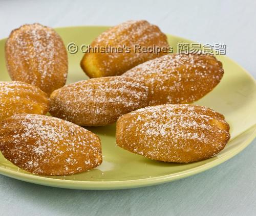 馬德蓮貝殼蛋糕  Madeleines02