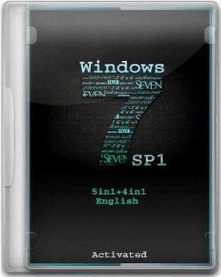 Windows 7 SP1 5in1 x86 July 2012 [Planet Free]