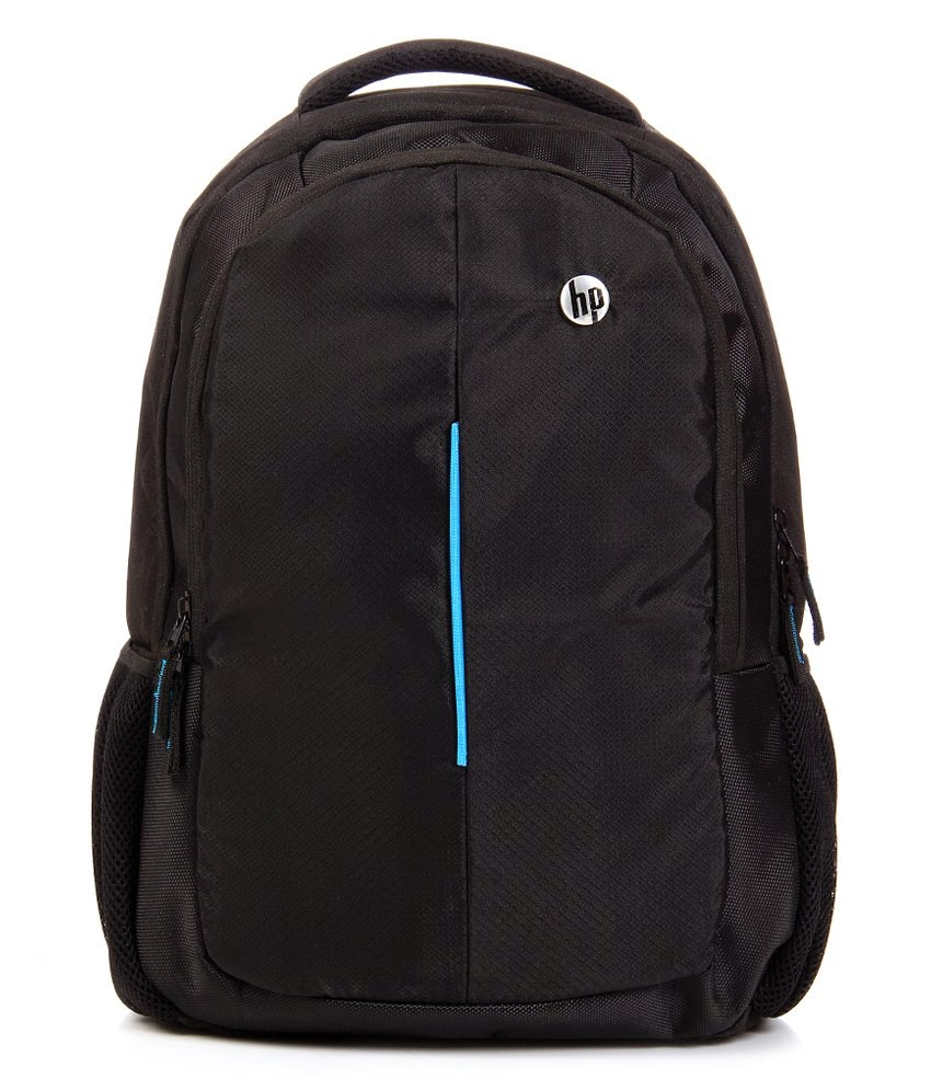 Buy HP Black & Blue Amazing Laptop Backpack at Rs. 300 only
