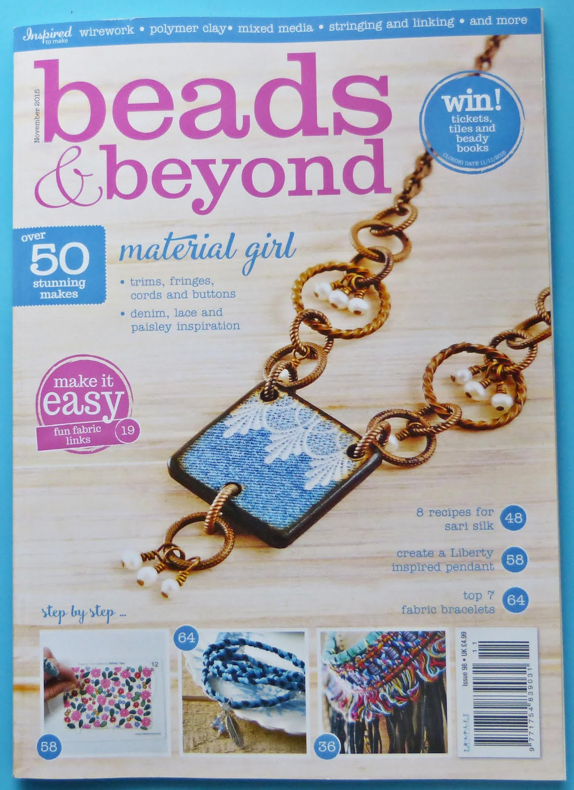 Published Beads & Beyond Magazine