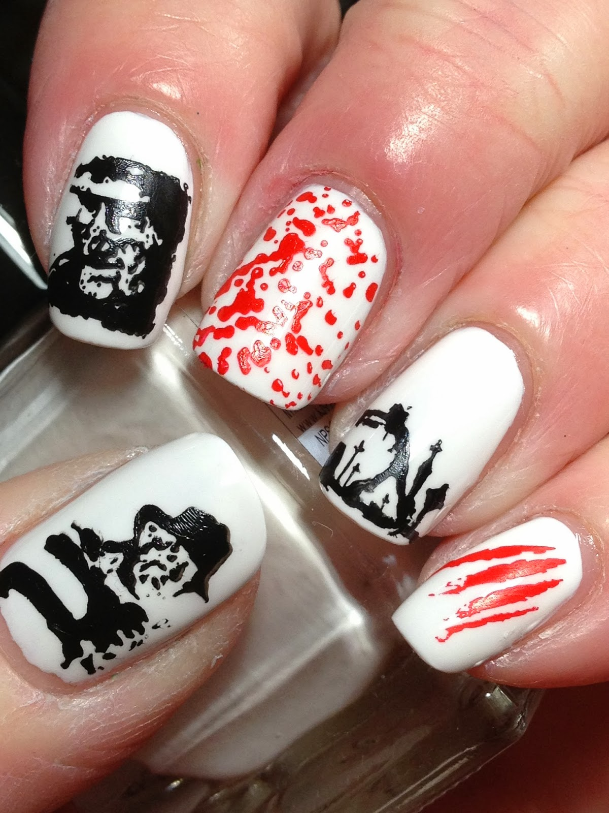 Canadian Nail Fanatic: Freddy Krueger (and Vote Over at Harlow & Co!)