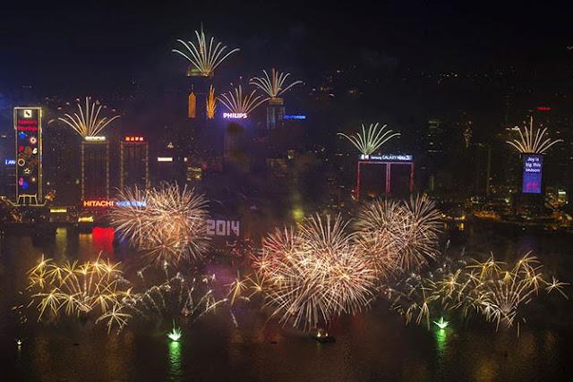 Залив Виктория в Гонконге.