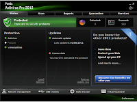 Panda Antivirus Pro - screenshot