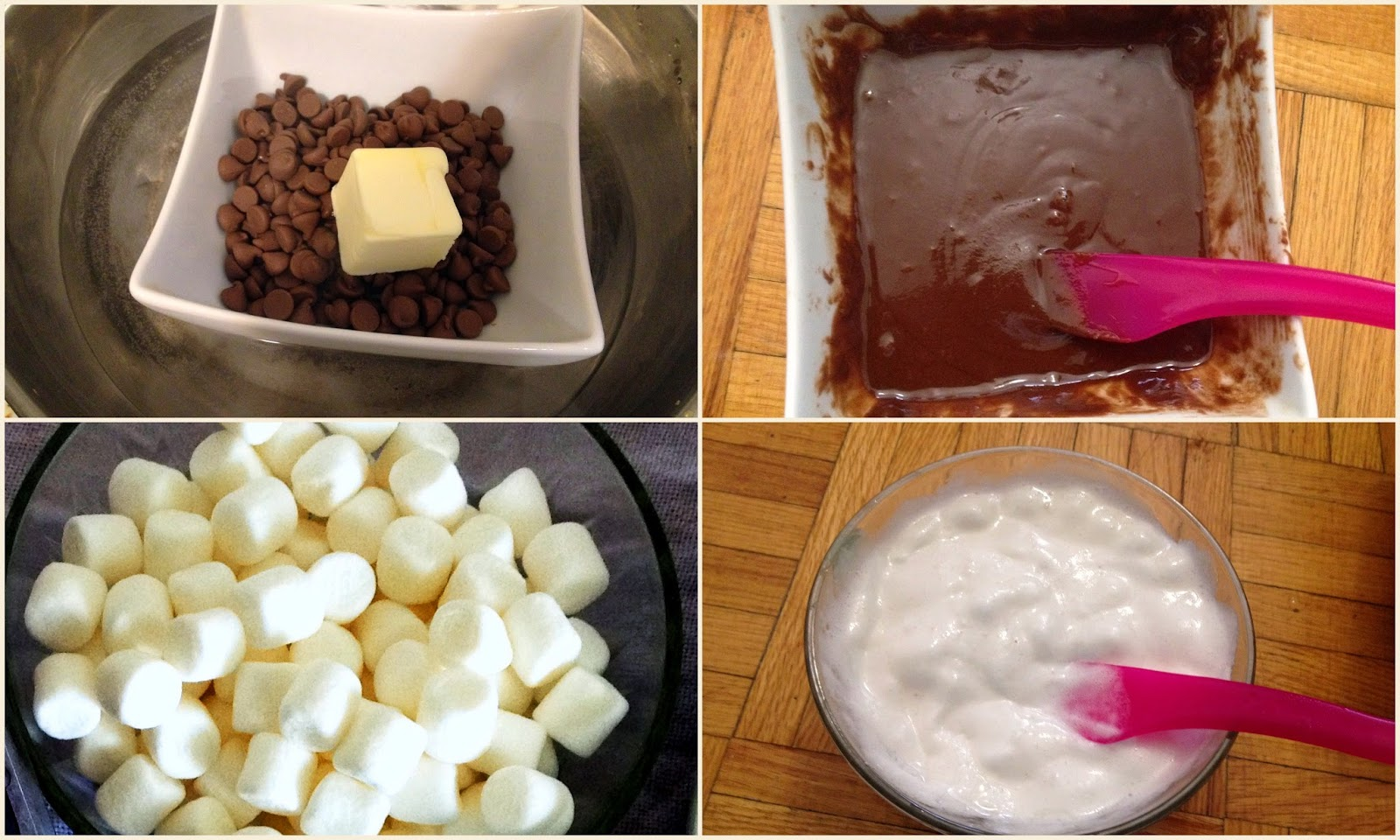 Chocolate and Marshmallow Dip