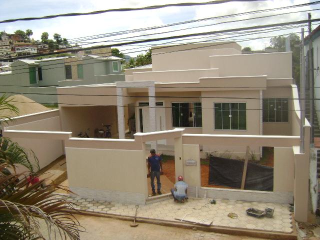 Constru o sonho e realidade a verdadeira saga do muro - Muro exterior casa ...