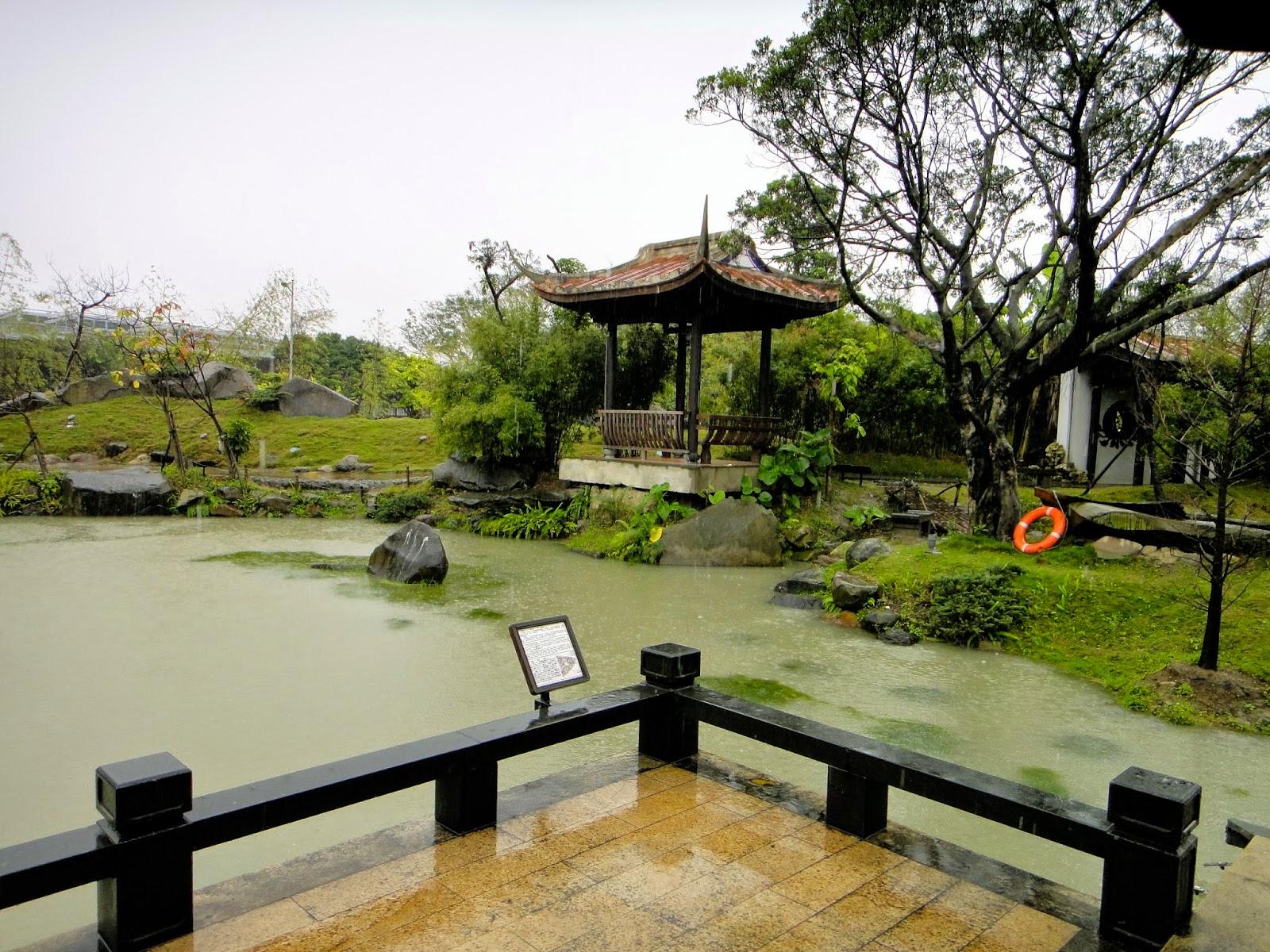 Chinese Pagoda at Lin An Tai Ancestral House and Museum Yuanshan