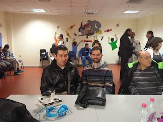 Με τον Πρόεδρο του Αθλητικού Σωματείου τυφλών «Όμηρος» κ. Δημήτρη Σηφάκη