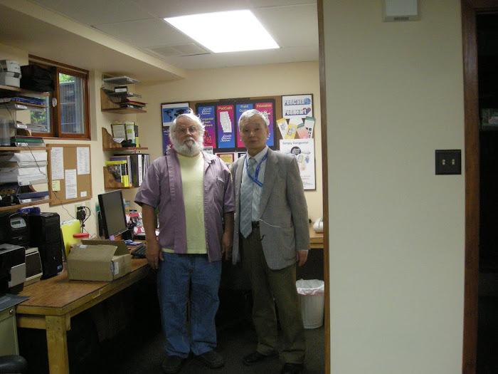 pedcath7のSSS社へ四度目の訪問にて