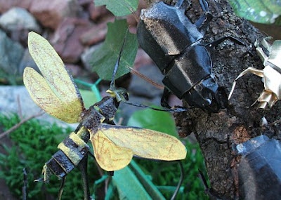 origami insecto volador