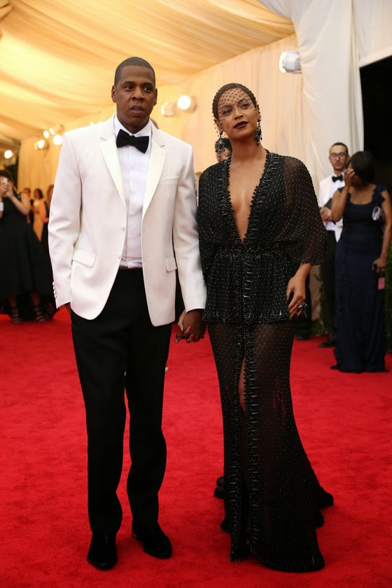 Jay-Z Givenchy Met Gala 2014