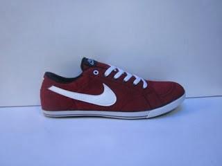 Sepatu Nike Slim Suede merah,supplier Sepatu Nike Slim Suede