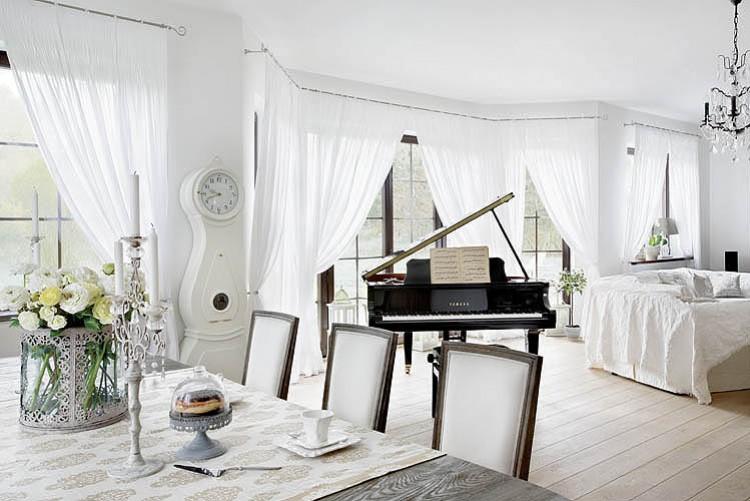 BOISERIE & C.: Bianco + Lino per il nuovo Shabby Chic