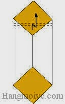Bước 4: Gấp gấp khúc cạnh giấy.