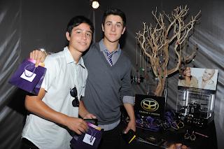 David Henrie and Maria Canals Barrera at Teen Choice Awards