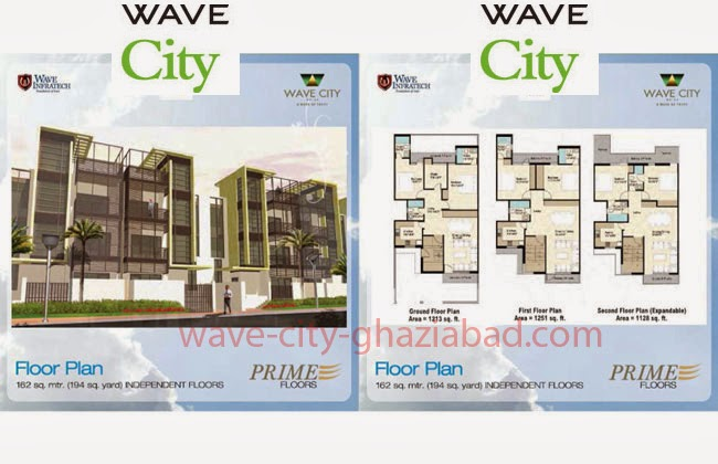 Wave City Independent Prime Floors 194 sq. yard