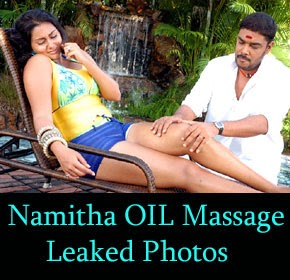 Actress Hot Full Body Massage