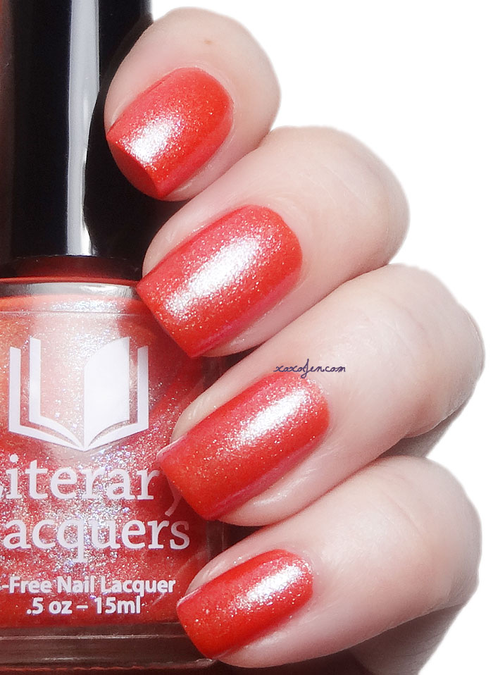 xoxoJen's swatch of Literary Lacquers Flickum Bicus