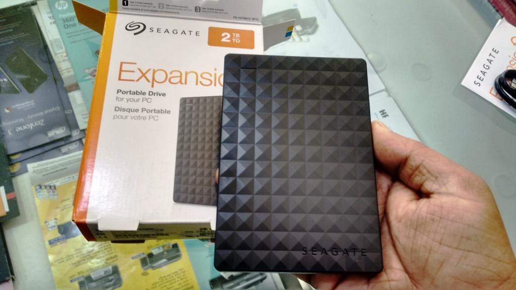 How do i retrieve data from my seagate external hard drive